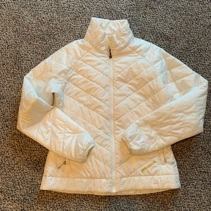 White Patagonia Women's Jacket